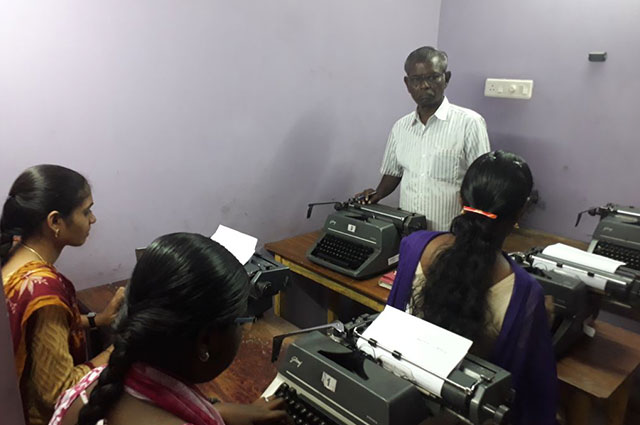 Typewriting Institute in Washermenpet